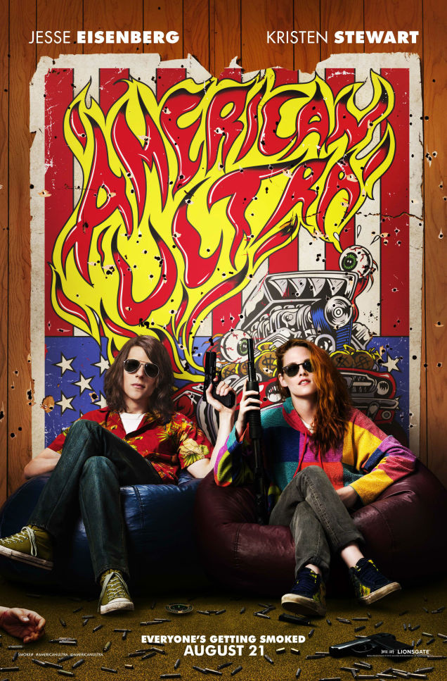american ultra movie poster